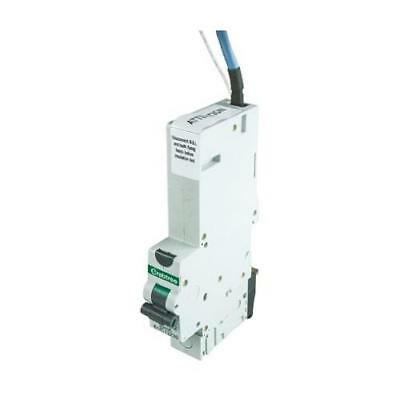 1 x Crabtree 61/C13230, Current Rating 32A RCBO, Trip Sensitivity 30mA