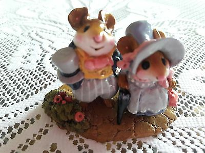 Wee Forest Folk M-195 Lord and Lady Mousebatten  Retired/MINT/Box