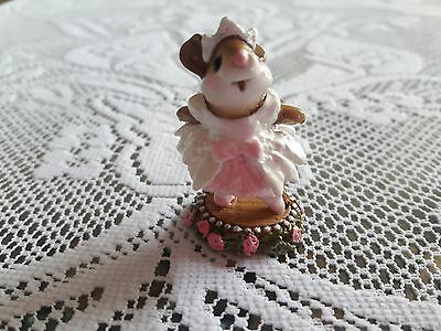 Wee Forest Folk M-162 Prima Ballerina in PINK , MINT Condition with Box