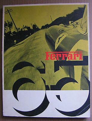 Official Ferrari Factory Issued Magazine 1965 In Italian Pictures Are In English