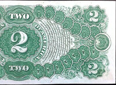 Crisp Uncirculated Near Gem 1917 $2 Two Dollar Large United States Note Bracelet