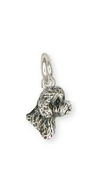 Sterling Silver Labradoodle Charm Jewelry LDD10-C