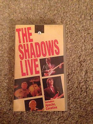 the shadows live vhs