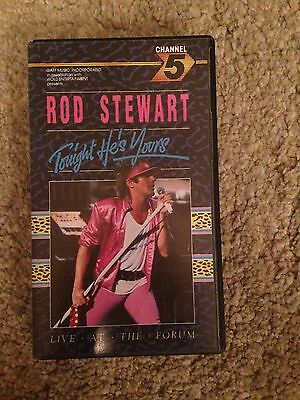 rod stewart tonight he's yours vhs