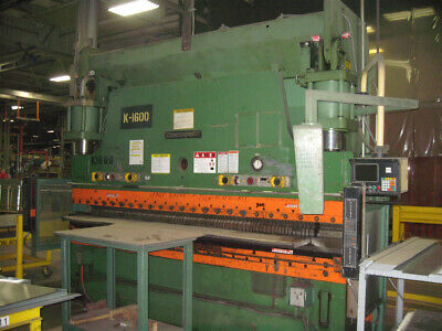 230 Ton x 12' Cincinnati CNC Hydraulic Press Brake Metal Bender