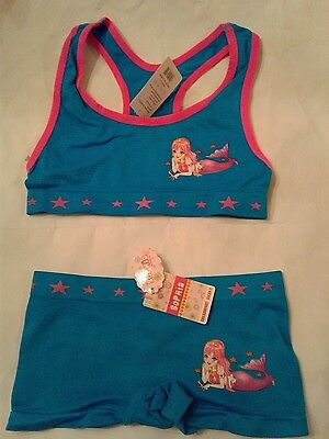 25223e2a1c4 NEW GIRLS CUTE training BRA AND PANTIES SETS .LOT OF 2 SETS..by ...