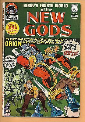 DC The NEW GODS No. 4, 5, 6, 9, 10, 11 (1971) Kirby! Darkseid! NICE!