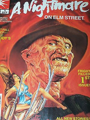 Freddy Krueger's A Nightmare on Elm Street #1 (Oct 1989, Marvel) Issues 1 and 2