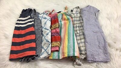 Baby Gap Old Navy 18-24 2yrs Lot Of 7 Pieces Rompers Dresses