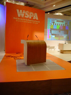 Doubl Lectern presentation desk, podiums and staging