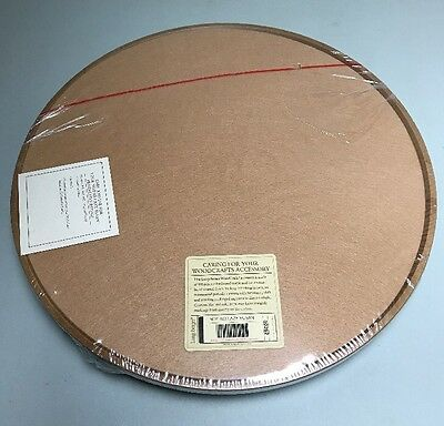 LONGABERGER Baskets WOODCRAFTS MAPLE Wooden LAZY SUSAN Tabletop Turntable NEW