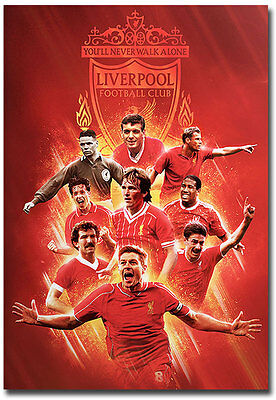 "Liverpool F.C. The Legends Fridge Magnet Collectible Size 2.5"" x 3.5"""