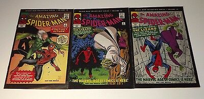 Marvel Spider-Man Collectible Series comic lot of 3! Issues Volume 12, 13, and15