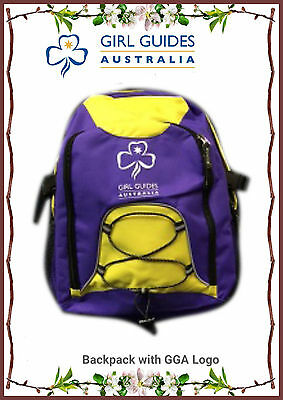 girl guides backpack bag school outdoor day bag camping etc brand new from GGA