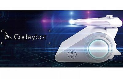 Brand New CODEYBOT With LED Laser Add-on Included