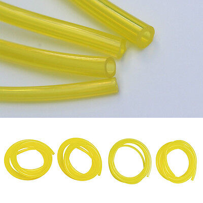 4 Sizes 10-Feet Yellow Smooth Fuel Tube Petrol Diesel Oil Line Hose For Blowers~
