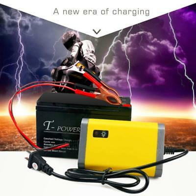 Motorcycle Battery Trickle Charger 12 Volt 12V 2A Car Power Supply Yellow SELL H