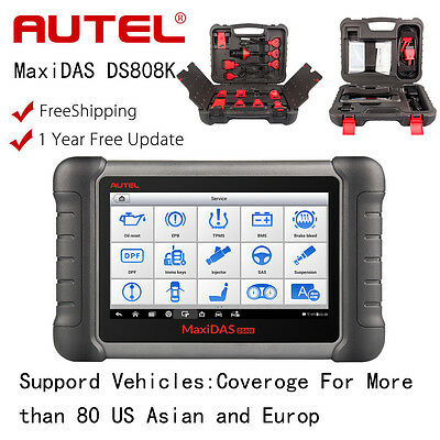 Autel MaxiDAS DS808K Analysis System OBD2 Auto Programmer Diagnostic Scanner