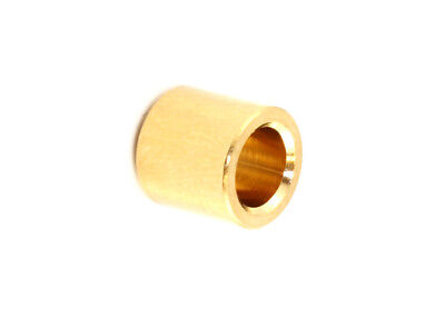 Flush Fit Guitar String Ferrules • Gold (6)