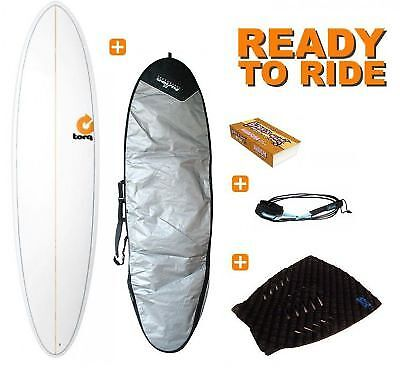"Pack Surf Torq Fun Pinline 7.2"" White"