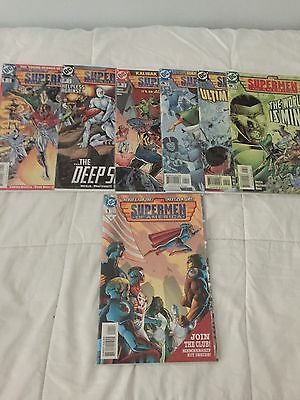 Supermen Of America #1-6 + One-Shot Complete Set (1999-2000) DC Comics