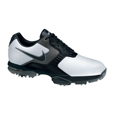 NEW Nike Air Academy II Men's Golf Shoes - White/Black [Size: 11.5 US]
