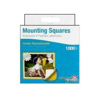 NEW 3L - Mounting Squares - Repositionable (1000Pc)