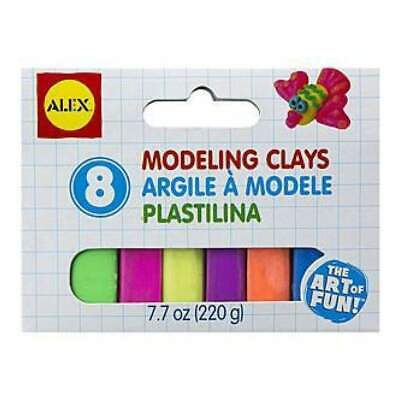 NEW Alex Toys  - Modeling Clay Set 6 Pack