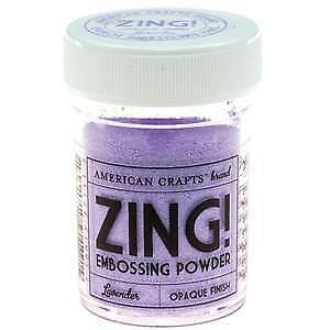 NEW American Crafts 1Oz Zing Embossing Powder - Lavender