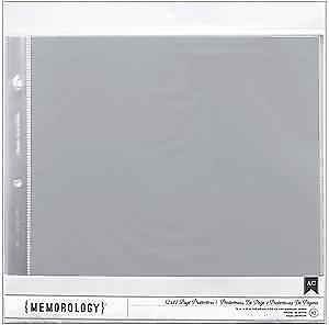 NEW American Crafts  - Page Protectors Top Loading 12X12 10 Pack