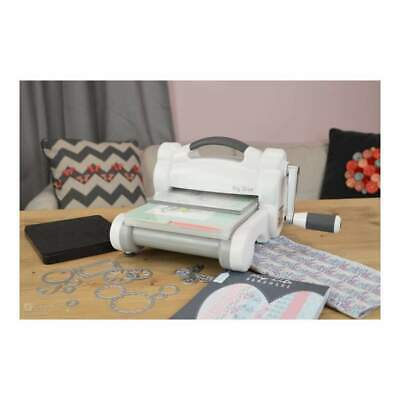 NEW Sizzix - New Big Shot Machine - Gray & White