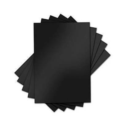 NEW Sizzix Inksheets - 4In. X 6In. Transfer Film 5 Black Sheets