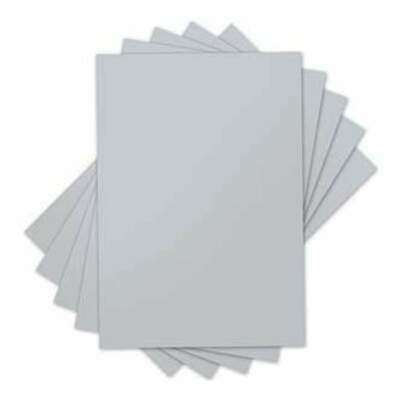 NEW Sizzix Inksheets - 4In. X 6In. Transfer Film 5 Silver Sheets