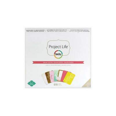 NEW Becky Higgins - Project Life Core Kit Dreamy, 616 pack