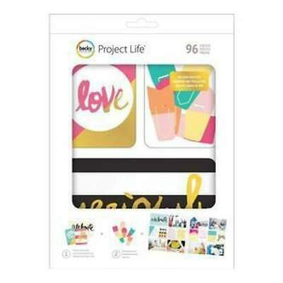 NEW Project Life Value Kit 96 Pack Mix & Match