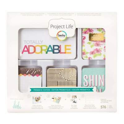 NEW Becky Higgins - Project Life Core Kit Heidi Swapp -Prismatic Edition