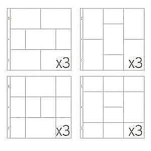 Becky Higgins - Project Life - Photo Pocket Pages - Small Variety Pack (6) - ...