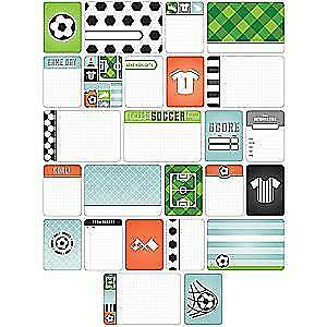 NEW Becky Higgins - Project Life - Themed Cards 40 Pack - Soccer