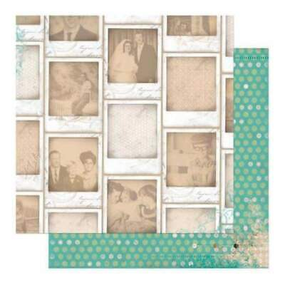 NEW Bo Bunny Press - Mama-Razzi2 - Focus 12X12 D/Sided Paper (Pack Of 10)