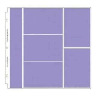 NEW Doodlebug Page Protectors 12In.X12in. 12 Pack