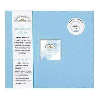 NEW Doodlebug - Storybook Album 12X12 Bubble Blue