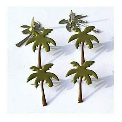 NEW Eyelet Outlet Shape Brads 12 Pack - Palm Trees #2