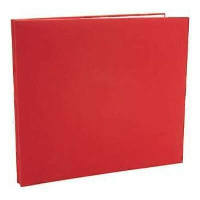 NEW Colorbok - Fabric Post Bound Album 12In. X12in.  Red