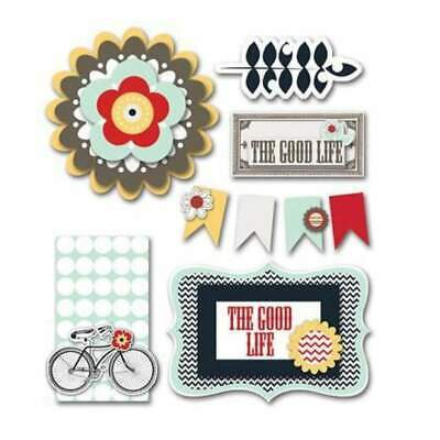 NEW Fancy Pants - The Good Life - Layered Stickers