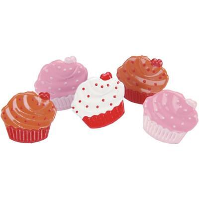 NEW Eyelet Outlet Shape Brads 12 Pack Cupcakes