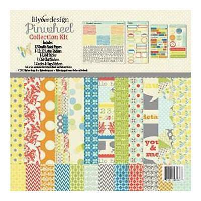 NEW Lily Bee Design - Pinwheel - 12X12 Collection Kit