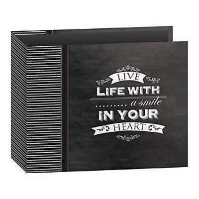 Pioneer Once Upon A Time Post Bound3-Ring Binder Chalkboard Album 12In. X12in...