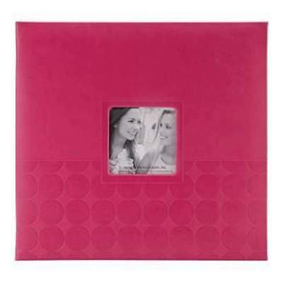 NEW Pioneer Embossed Post Bound Frame Album 12 Inch X12 Inch Pink