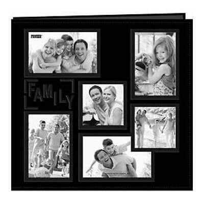 Pioneer  - Sewn Embossed Collage Frame Post Bound Album 12In. X12in.  Family ...