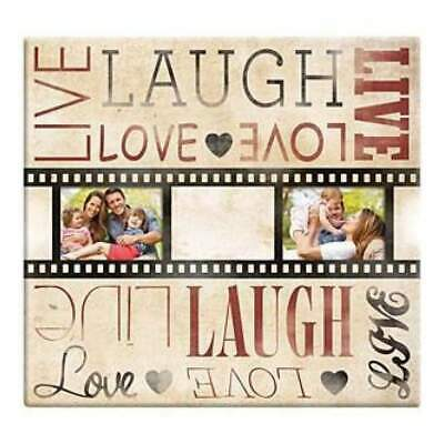 NEW Mbi Live Laugh Love Film Strip Post Bound Album 12 Inch X12 Inch
